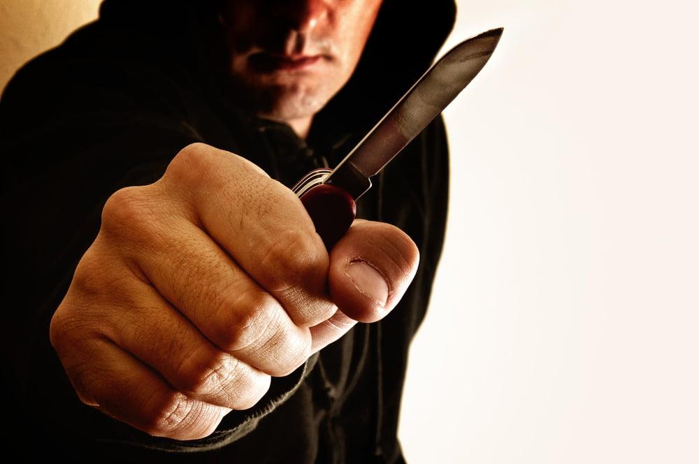החזקת סכין או אגרופן שלא כדין